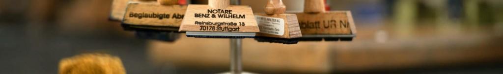 Notare Benz und Wilhelm Stempel